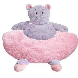Ballerina hippo baby mat